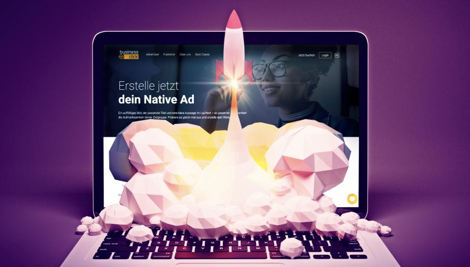 business click, der schweizweit erste Native Ad Manager