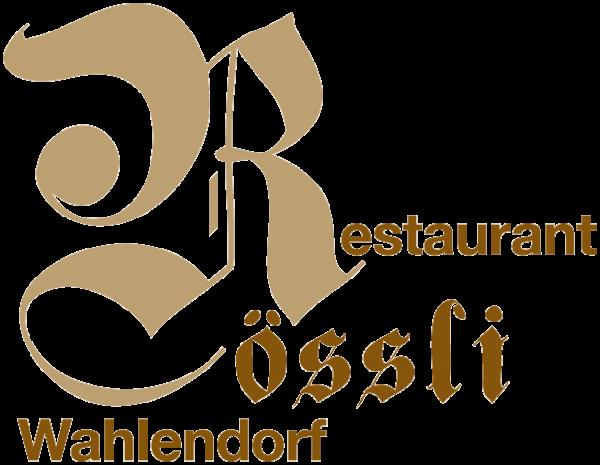 Logo Restaurant Rössli Wahlendorf