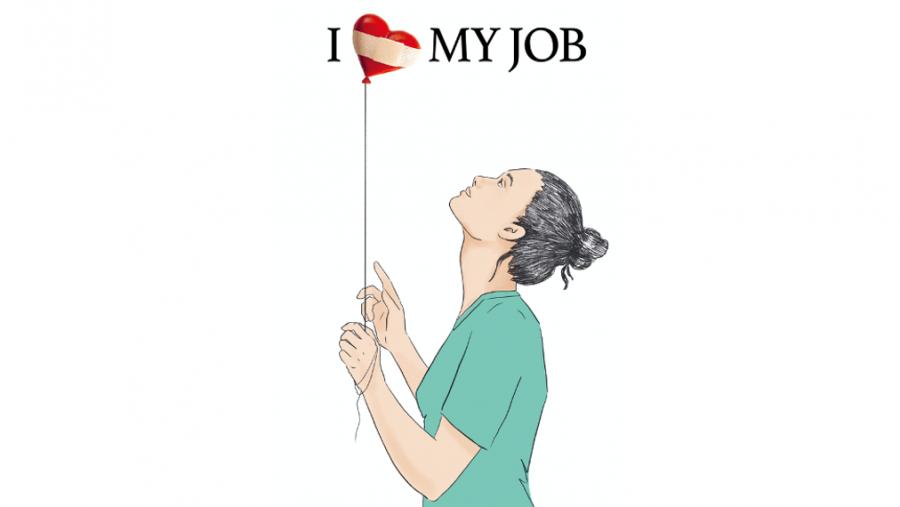 Kampagne I love my job