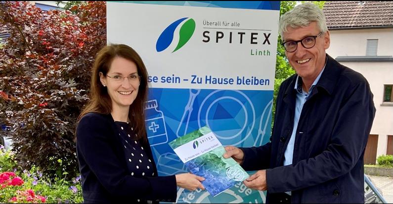 Karen Peier und Peter Göldi