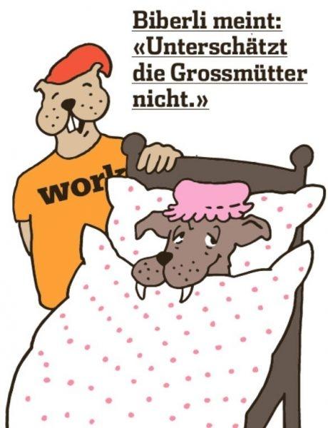 Biberli meint: «Unterschätzt die Grossmütter nicht.»