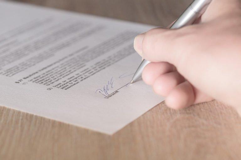 arbeitsvertrag unterschrieben will aber nicht anfangen