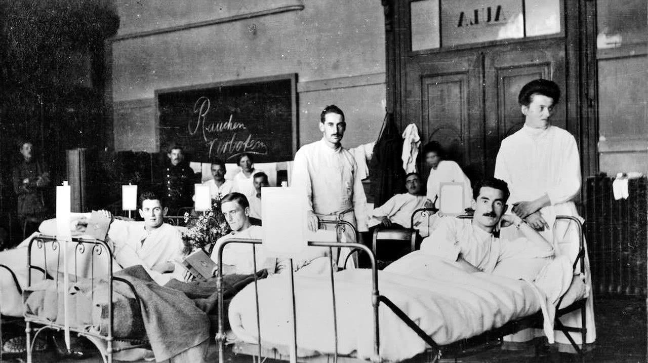 Spanische Grippe Tote